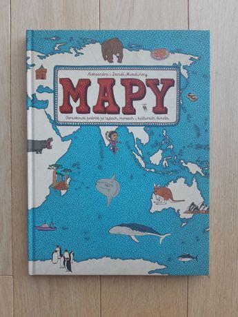 NOWA Mapy Mizielińskich Mizielińscy niebieska