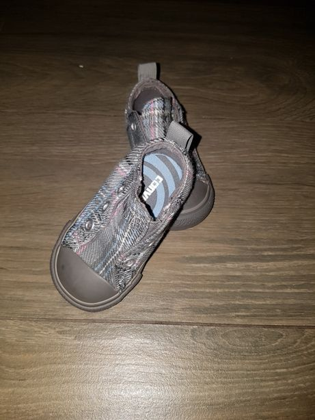 Trampki Converse kratka krata 19 wysuwane slip on