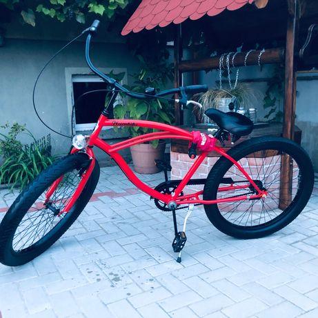 Rower plumbike czerwony  rider x