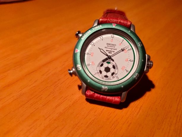 "Seiko Cronógrafo 8M32-8019 ""Soccer Timer"" VINTAGE"