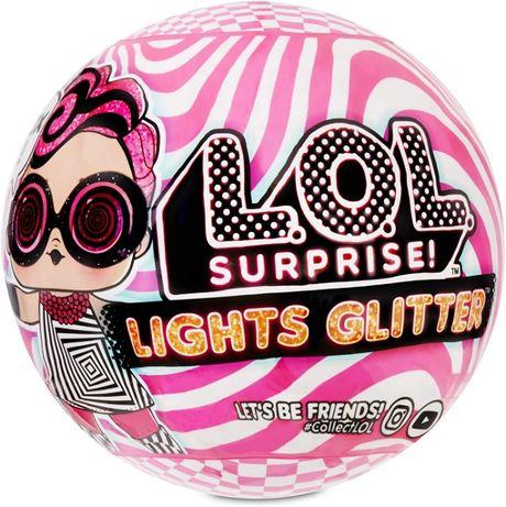 Кукла L.O.L. Surprise шарик Лол светящаяся блестящая кукла