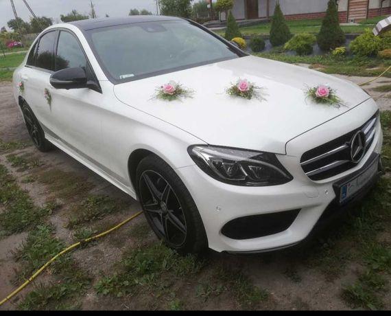 Ozdoby na auto ślubne