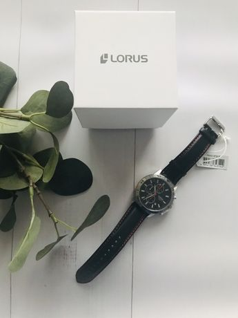 Zegarek LORUS RM313FX meski nowy srebrna tarcza wysylka gratis