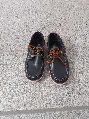 Sapatos vela em pele nº 39
