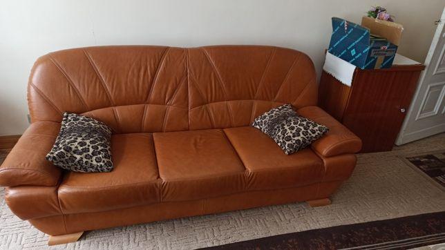 Kanapa / wypoczynek / sofa / eko skóra