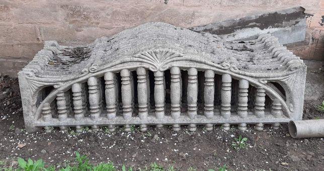 вес бетонного забора