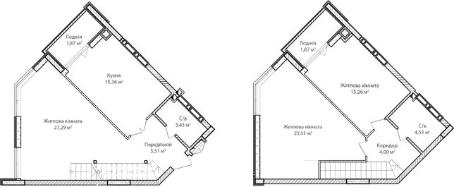 3-х комнатная квартира с большими комнатами