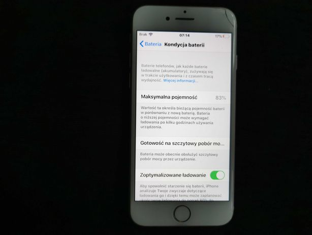 IPhone 7 1778 stan bardzo dobry.