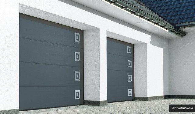 Brama Segmentowa Garażowa do garażu na pilota Automatyczna Przemysłowa