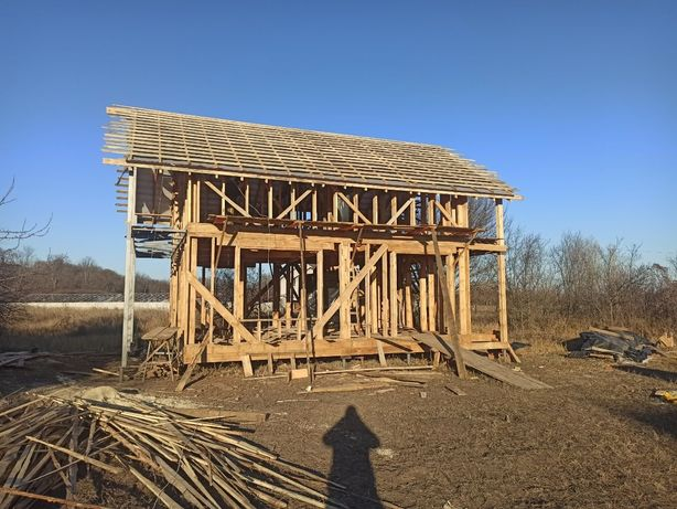 Каркасный дом, дача