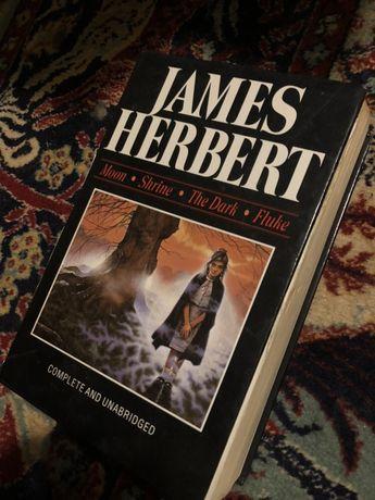 JAMES HERBERT cztery ksiazki w jednej horror makabra dreszczowiec