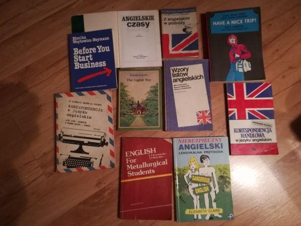 sprzedam używane książki do nauki angielskiego