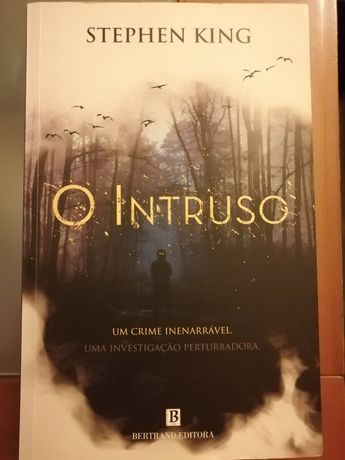 "Livro "" O intruso ' de Stephen King"
