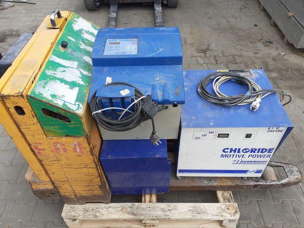 Wózek elektryczny Jungheinrich eje paleciak