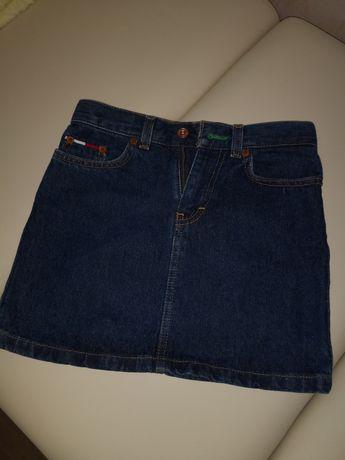 Джинсовая юбка на девочку tommy hilfiger размер 7