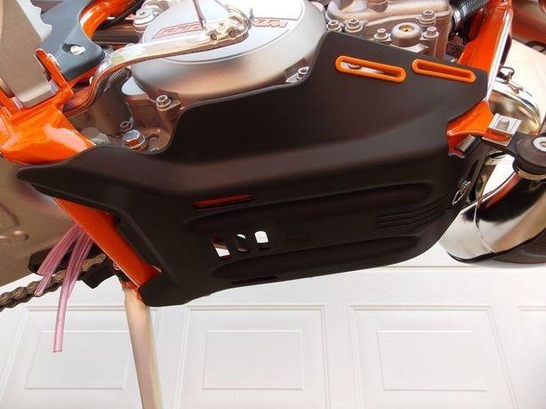 Proteção de carter motor KTM Husaberg Husqvarna 2T 250 300