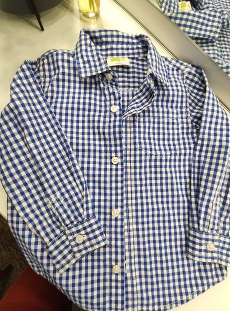 Рубашка на мальчика 2-3года