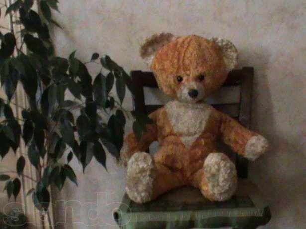 игрушка мишка плюшевый 1979 ссср
