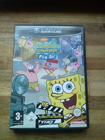 Gra Spongebob Schwammkopf film ab gamecube