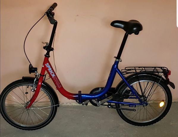 Rower miejski SKŁADAK SPRICK CYCLE 20 ''