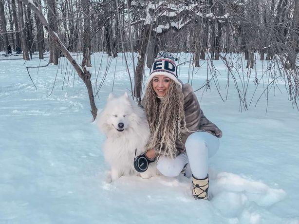 Большая собачка для фотосес, Киев,парки Политеха и Орлятко