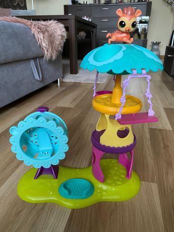 Littlest Pet Shop plac zabaw dla chomików