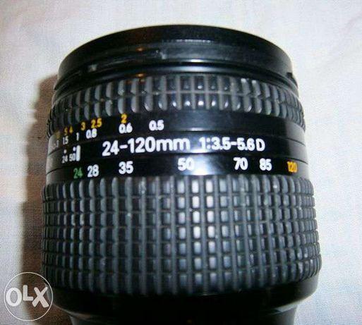 Nikon Nikkor 24-120mm ,f3.5, Lente objectiva ,Excelente Estado