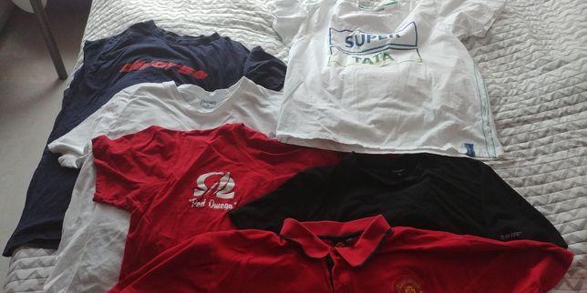 Paczka koszulek NOWE i używane