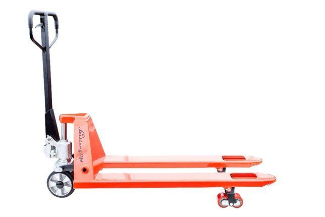 Wózek paletowy, paleciak ręczny udźwig 2500kg, nowy, cena netto