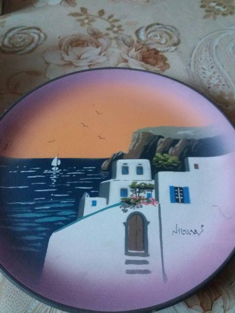 Talerz ceramiczny kolekcjonerski NIKOLAS