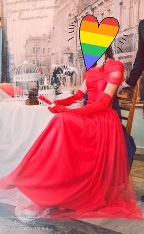 Прокат аренда бального платья платье