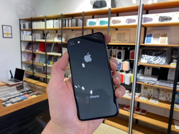 iPhone 8 64gb space gray/Айфон 8 64гб черный Гарантия! Полный комплект