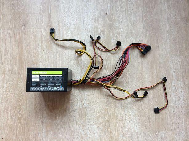 Блок Питания для пк AeroCool VX 500w ват черный идеал с пломбой