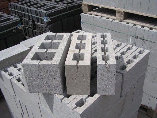 Блок будівельний вібропресований
