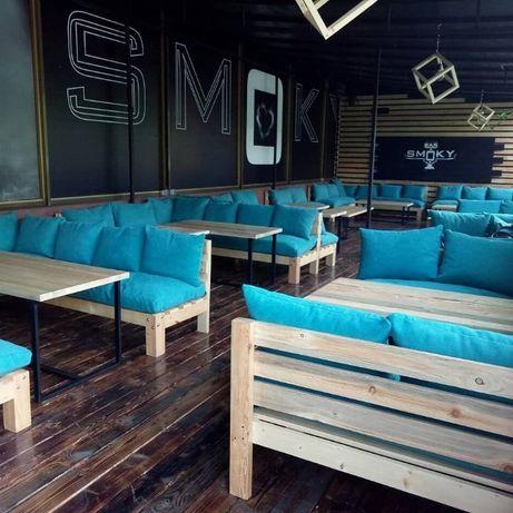 Офисная мебель, мебель для кальянных, мебель в кафе,столы,стулья,диван
