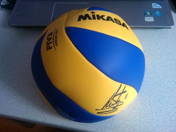 Piłka do siatkówki Oryginalny Podpis Stephan Antiga