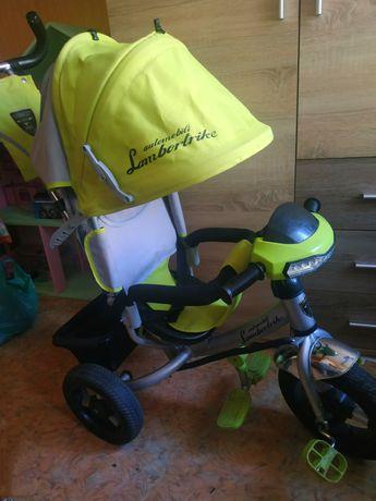 Детский велосипед azimut trike. Велосипед с родительской ручкой