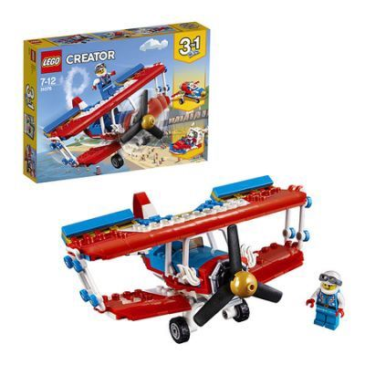 Лего самолет 31076 creator с мирифигуркой оригинал