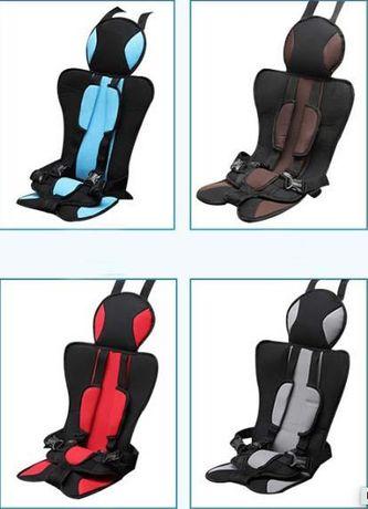 Детское бескаркасное автокресло для детей 1-9 год бустер кресло 50КГ
