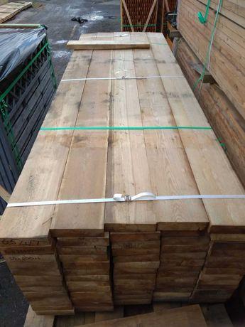 Modrzew Syberyjski belka niestrugana 50x200mm dł 3m - TARCICA suszona