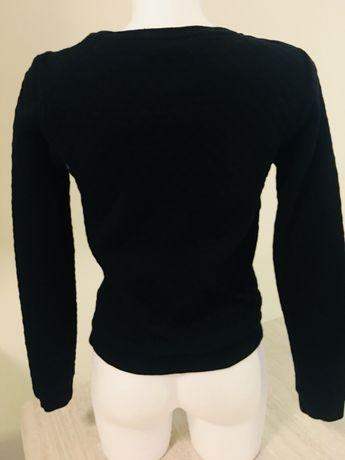 RACE MARINE czarna bluza pikowana, rozm. 34