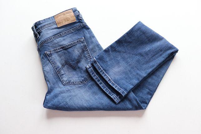 Spodnie męskie jeansy Tom Taylor Aedan Slim W34 L32. Stan idealny