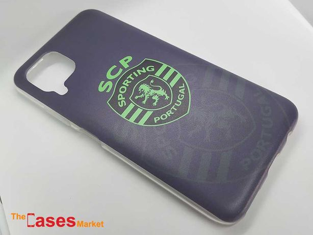 Capa oficial Sporting telemóvel Huawei P40 Lite