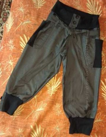 женские бриджи на резинке с карманами МОЖНО для беременных 46-50 р.