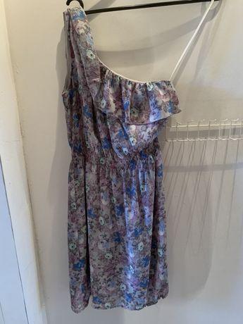 Wysylka 1 zł Sukienka Orsay rozm. 36 na wesele w kwiatki