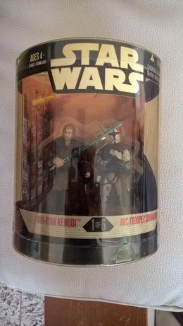 Star Wars 1 of 6 Order 66 Obi-Wan Kenobi ARC Trooper Commander Hasbro