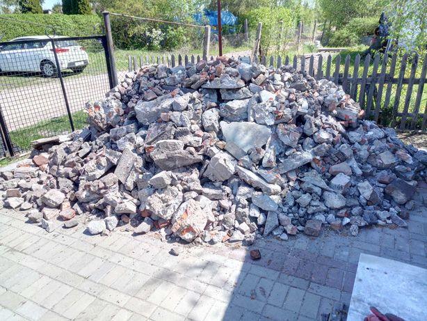 Gruz betonowy z rozbiórki