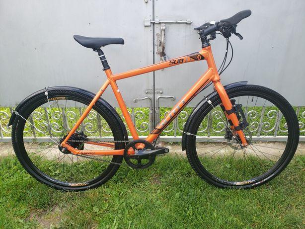 Дорожній велосипед дорожник Scott sub 10