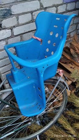 Сидушка для ребенка на велосипед