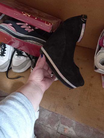 Продам туфли замш